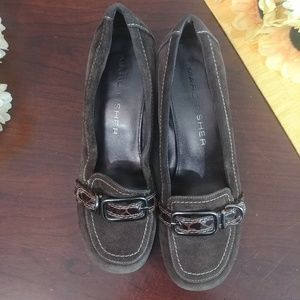 Marc Fisher Shoes - Marc Fisher Mfabruzza Leather Buckle Size 7.5